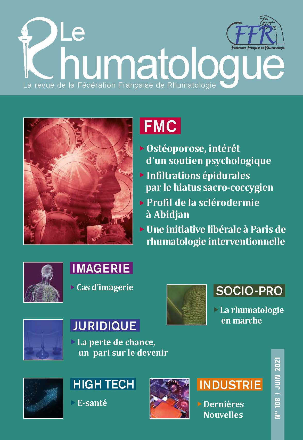 Le Rhumatologue - No. 108